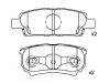 Brake Pad Set:05191271AA