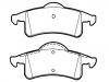 Brake Pad Set:5011970AA
